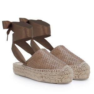 Sam Edelman Inna Lace Up Espadrilles Sandals